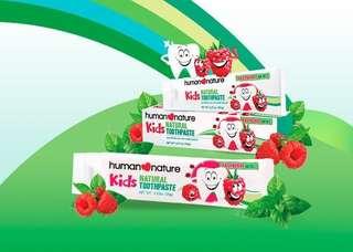 Natural Kiddie Toothpaste 120g