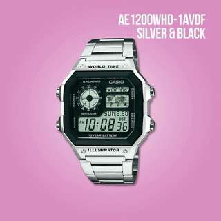 Original Casio watch AE1200WHD-1AVDF