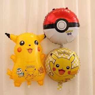(Preorder) 45 x 45cm Pokemon Foil Balloon