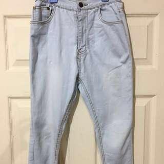 Benson Sky Blue Faded Pants