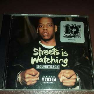 Jay Z street is watching soundtrack rare 1998 original USA pressing cd sealed Rap, dj clue , Noreaga