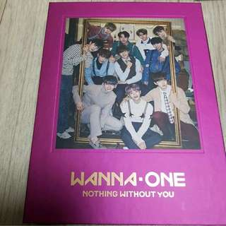 Wanna One Nothing Without You Pink Ver (One ver)