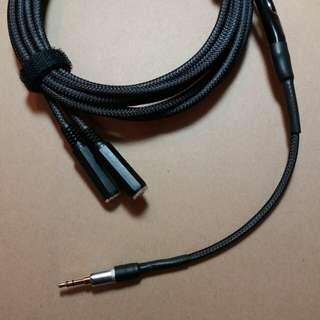 3.5mm Stereo Headphone Splitter, Long Split Cable, 1-to-2, 6 feet