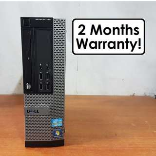 [Core I7 Gen2 CPU] Dell Optiplex 790 SFF: 4 Core 8 Threads! Up to 3.8Ghz!