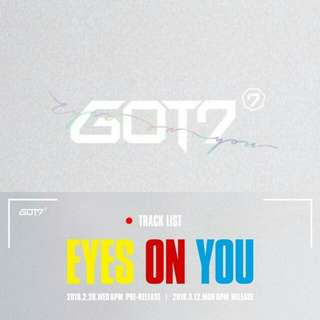 [NON PROFIT] Got7 Eyes On You