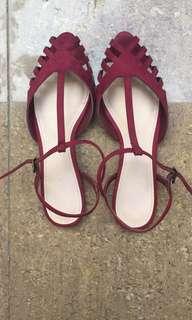 CnK flat strap shoes