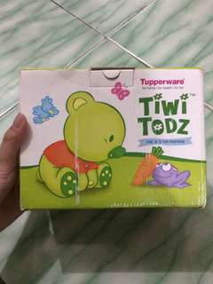 Tiwi Todz Tupperware Toddler Baby Feeding Set Alat Makan Bayi