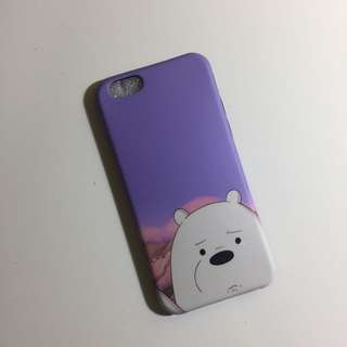 iPhone 6/6S We Bare Bears Case Ice Bear
