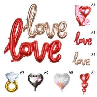 (Preorder) Valentine Foil Balloon