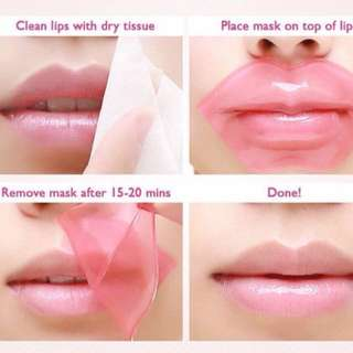 👍🏻No more crack lips 👍🏻📮Free normal mail 📮👄Highly Raved BioAqua Lip Mask 👄8g per sheet. Moisturize, prevent crack lips + brighten our lips! It has a soothing smooth effect. Selling at $1.50/pc. Min purchase of 10 pcs is required.