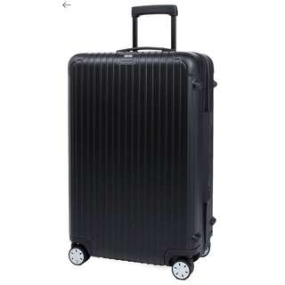 RIMOWA Salsa four-wheel spinner suitcase 74cm Matte black