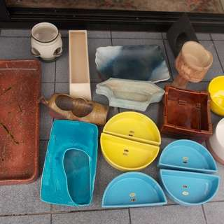 Japanese Ikebana Vase Pots