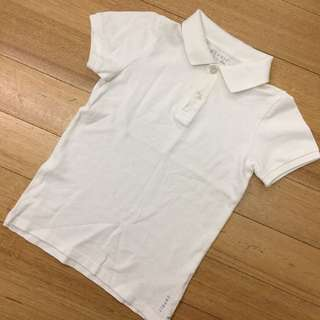 Esprit White Polo (6Y)