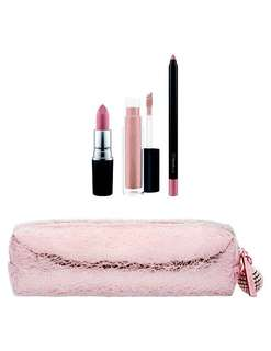 M.A.C Snowball Nude Lip Bag