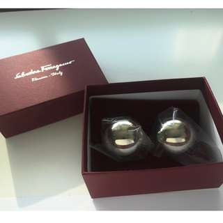 【Salvatore Ferragamo】Metal Earrings 耳環