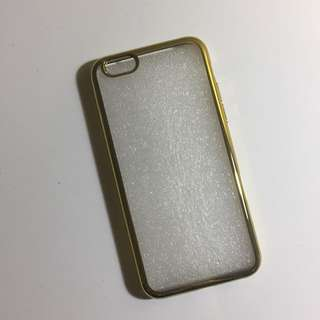 iPhone 6/6S Case Clear Gold