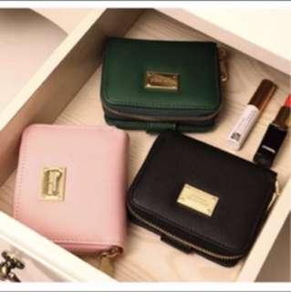 Zara basic black wallet