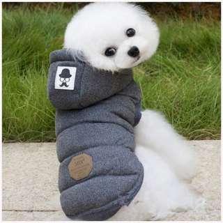DP雜貨鋪 寵物衣服 秋冬新款加厚小鬍子羊羔絨棉背心 貓狗衣服 馬爾濟斯/貴賓/博美/吉娃娃