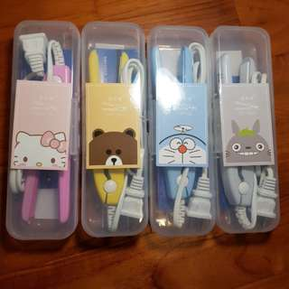 Mini Cartoon Character Hair Straightener