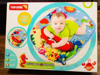 BNIB Baby play gym / activity mat