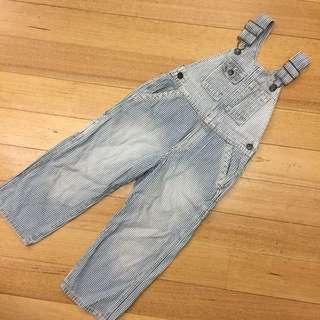Oshkosh Bib Jeans Overalls (4Y)