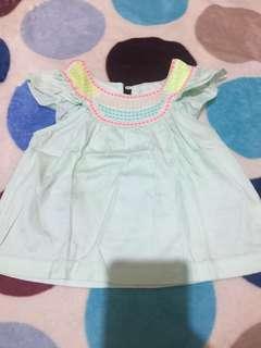 Gingersnap green blouse