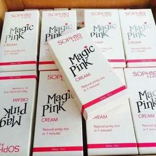 Magic pink cream