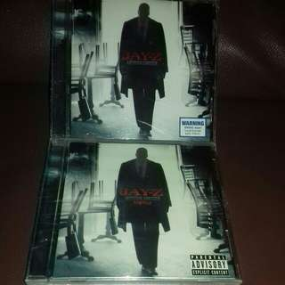 Jay Z American Gangster Album and Acapella sealed cd original USA pressing cd