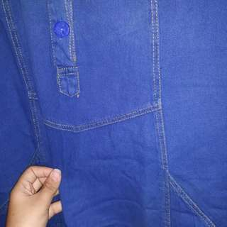Gamis jeans big size