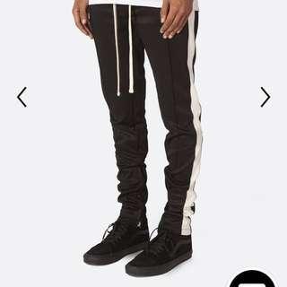 [XS] mnml black/white trackpants