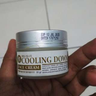 Bali Alus - Cooling Down Face Cream