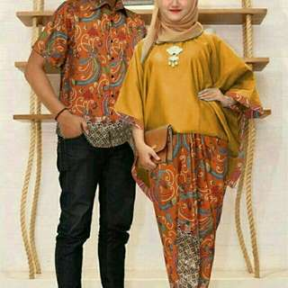 Couple cantika batik