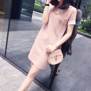 LD0014 Pre-order Nice & Plain T-shirt Dress