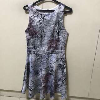 Cheris Printed Dress Medium