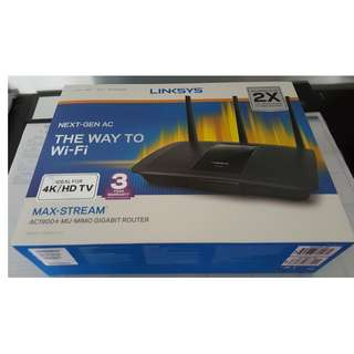 Linksys Max-StreamTM EA7500 AC1900+ wireless router