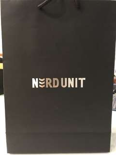 NERD UNIT EXCLUSIVE PLASTIC BAG !!