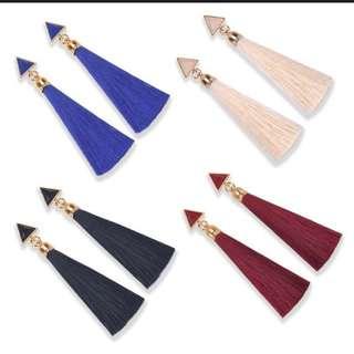 Bohemian Long Tassel Earring (Pre Order)