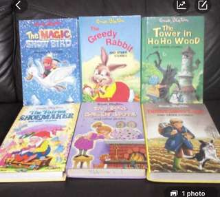 English story book each $6 , 2 for $10