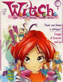 W.I.T.C.H 139 Issues (Complete) + SPECIAL EDITIONS (DIGITAL COMICS)