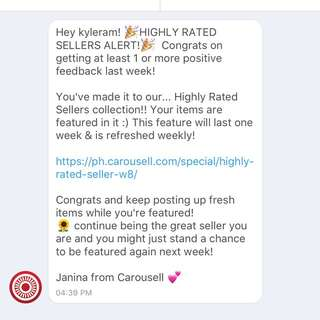 Thank you Carousell 🙏🏻