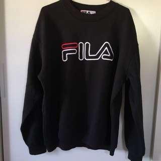 Vintage oversized FILA sweatshirt pullover