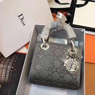 Lady Dior Mini in Grey