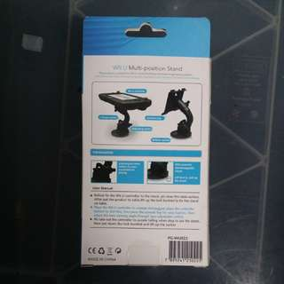 Nintendo Wii U multi purpose stand