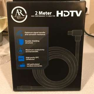 HD TV cable Acoustic Research New 2m