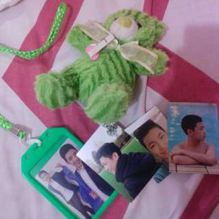 DARRENatics ID lace, Pictures, and free Green Teddy bear