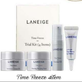 Laneige Time Freeze Trial Kit 4 items New 100% Original
