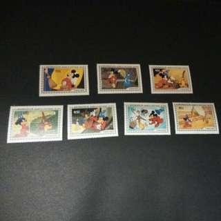 迪士尼郵票 9
