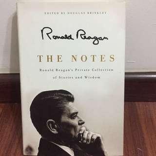 Ronald Reagan The Notes