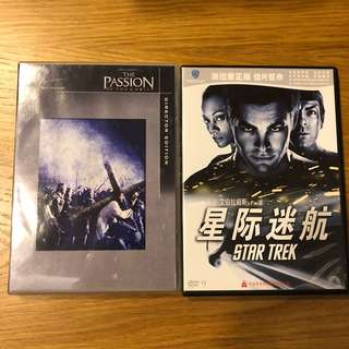 4 movies DVD for sale.