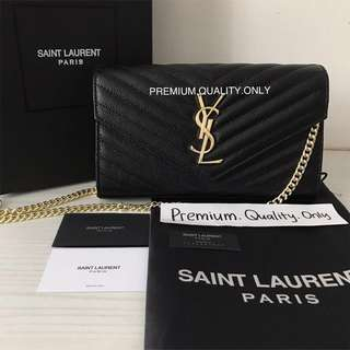 Customer's Order YSL Wallet on Chain Woc SainLauren